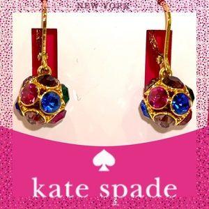"""Take37% Kate Spade """"Time to Shine"""" Dangle Earrings"""